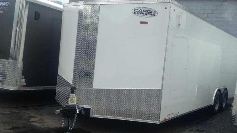 2017 Cargo Express 8.5 X 24 Enclosed Cargo Trailer