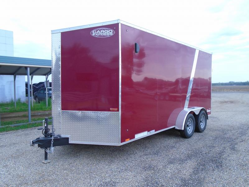 2019 Cargo Express Xlw Se 7' Wide Cargo Flat Top Cargo / Enclosed Trailer
