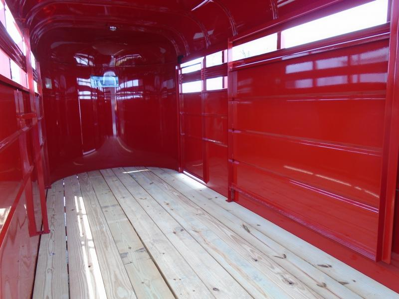 "2019 Valley Trailers 6x16 26016 16STOCK BP 66"" Livestock Trailer"
