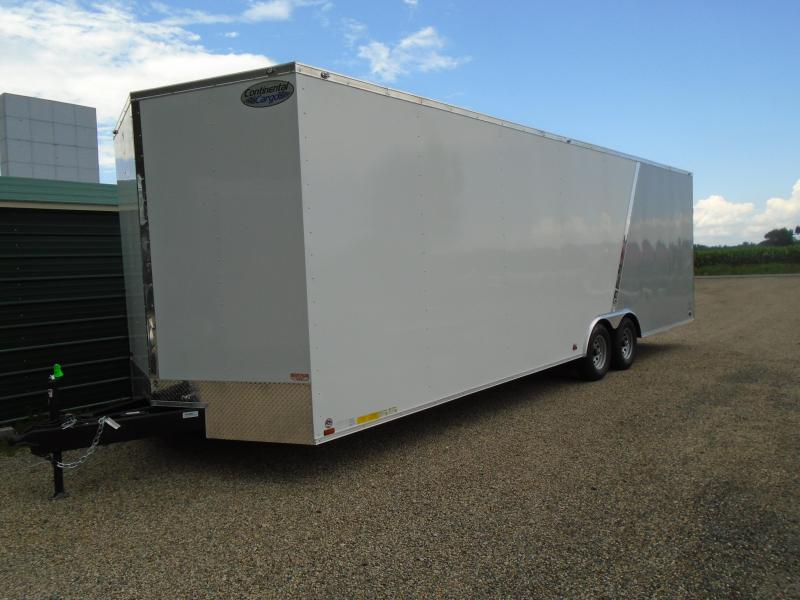 2019 Continental Cargo 8.5x28 carhauler Enclosed Cargo Trailer