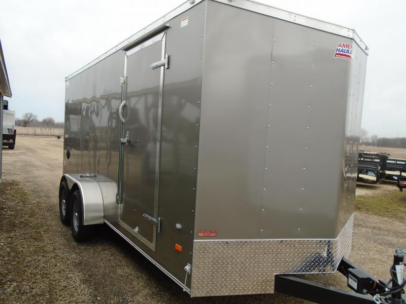 2018 American Hauler Industries 7x16 Arrow Enclosed Cargo Trailer