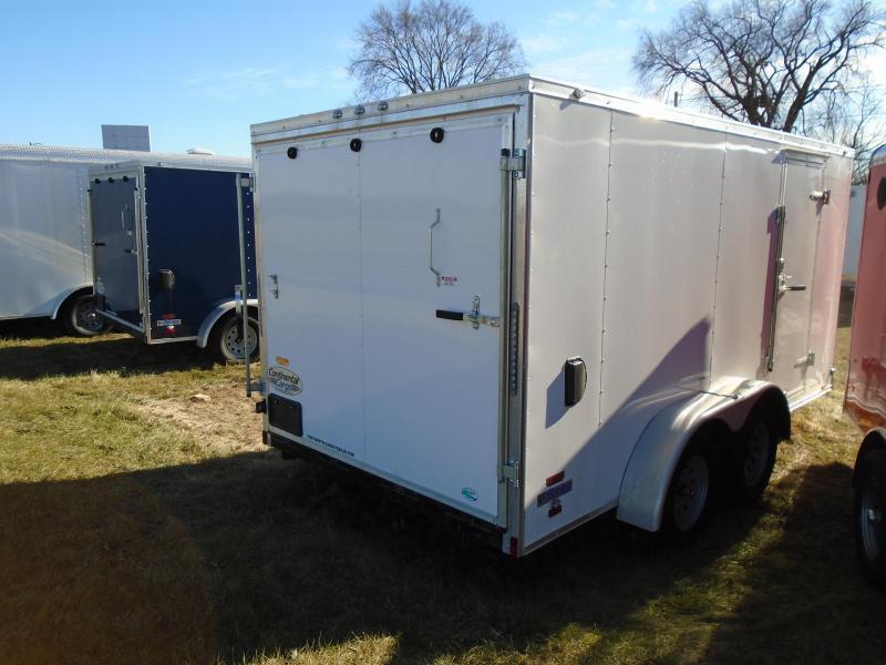 2018 Continental Cargo V Series 7x14 Enclosed Cargo Trailer