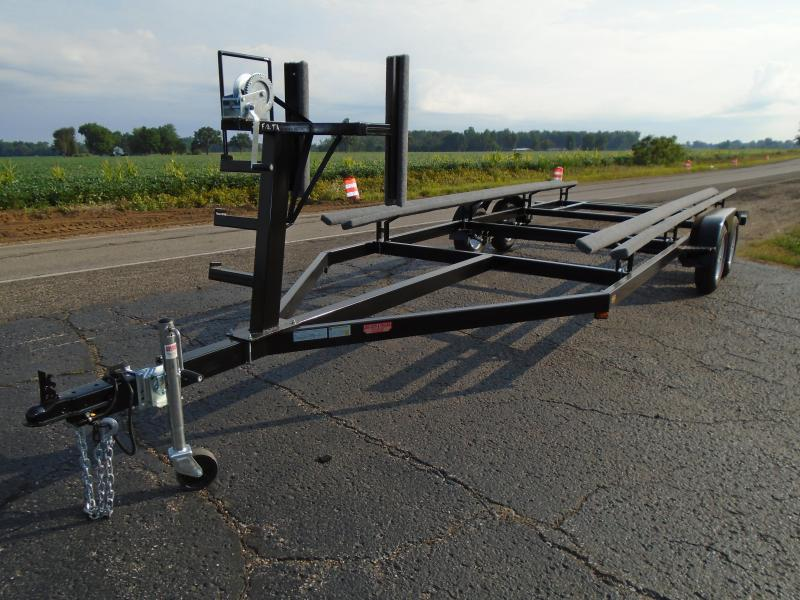 2018 GE 20' Tandem pontoon Watercraft Trailer