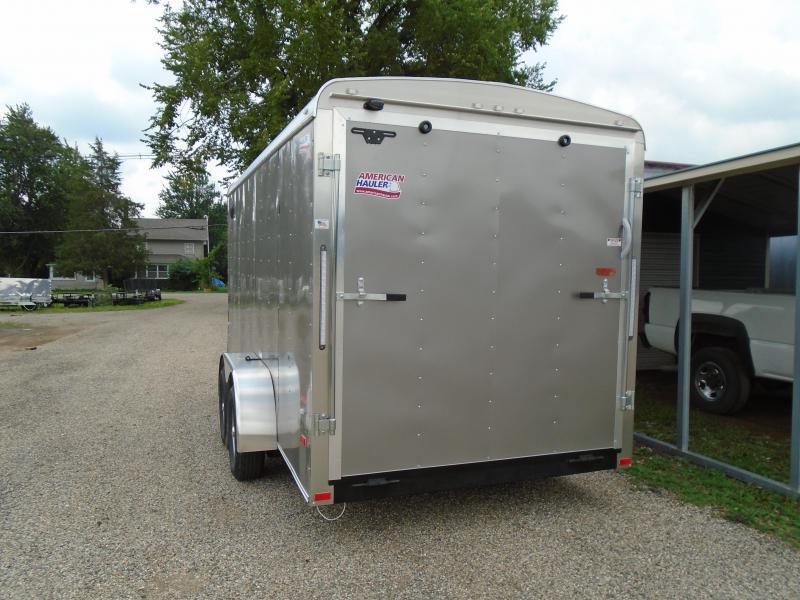 2018 American Hauler Industries 7x16 Air lite Enclosed Cargo Trailer