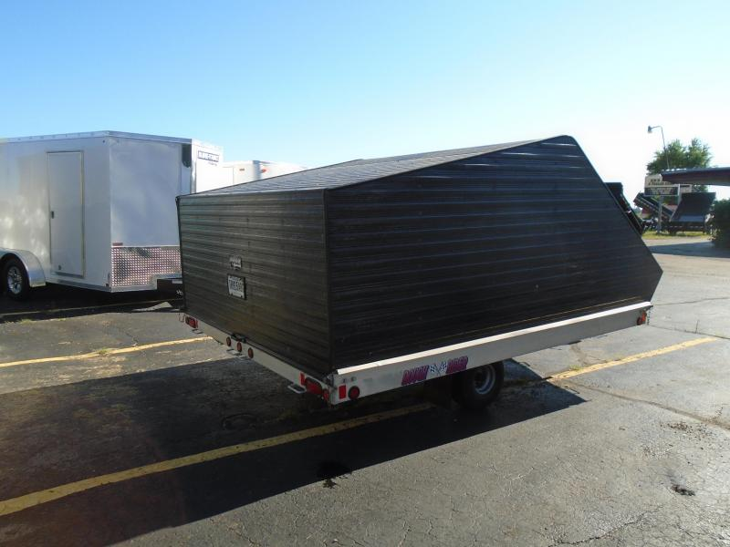 """1999 Other Rough Ride 102""""x 12' two place Snowmobile Trailer"""