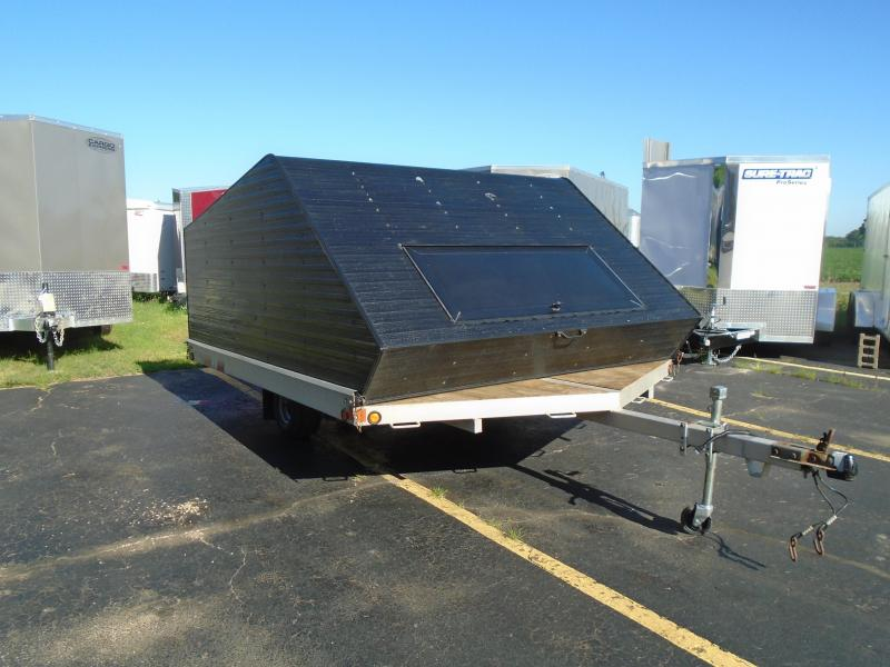 "1999 Other Rough Ride 102""x 12' two place Snowmobile Trailer"