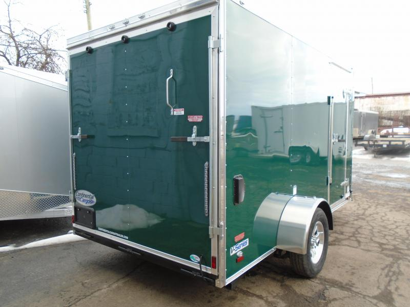 2018 Continental Cargo 6.5x12 V Series ATV Trailer