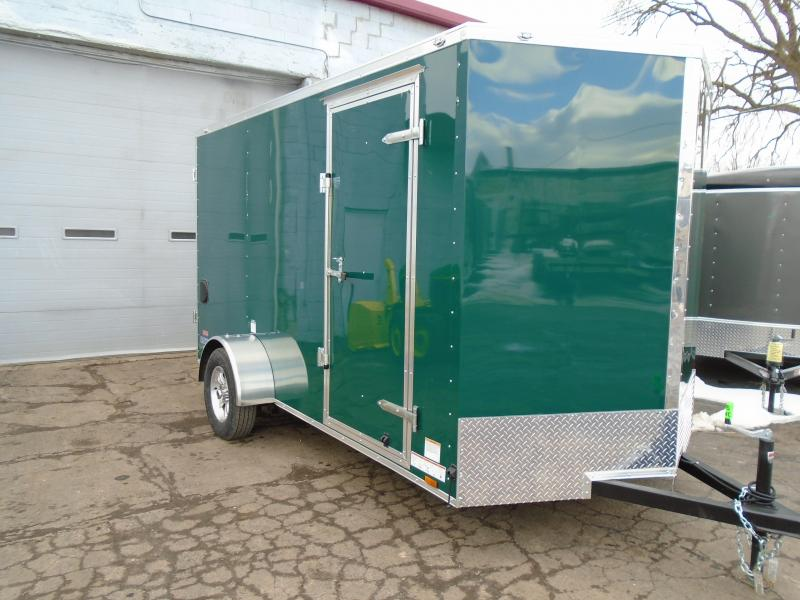 2018 Continental Cargo 6.5x12 V Series ATV Trailer