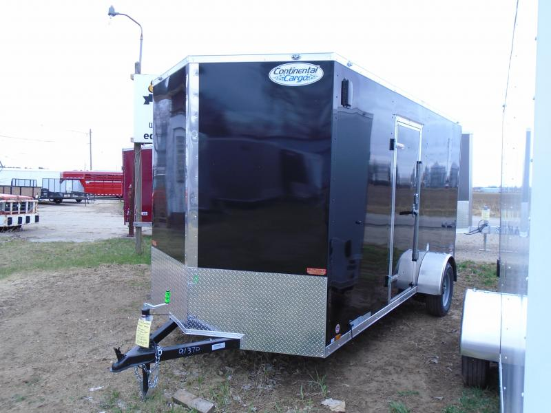 2020 Continental Cargo 6.5x14 SA V Series Enclosed Cargo Trailer