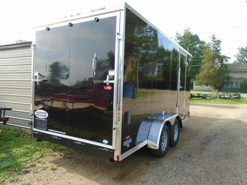 2019 Continental Cargo 7x16 V Series Enclosed Cargo Trailer