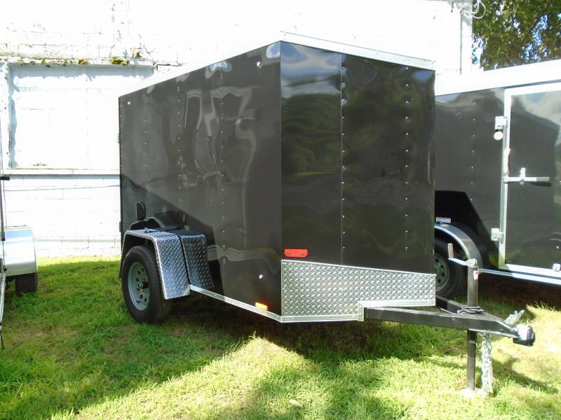 2019 Pace American 5x8 Outback DLX Enclosed Cargo Trailer