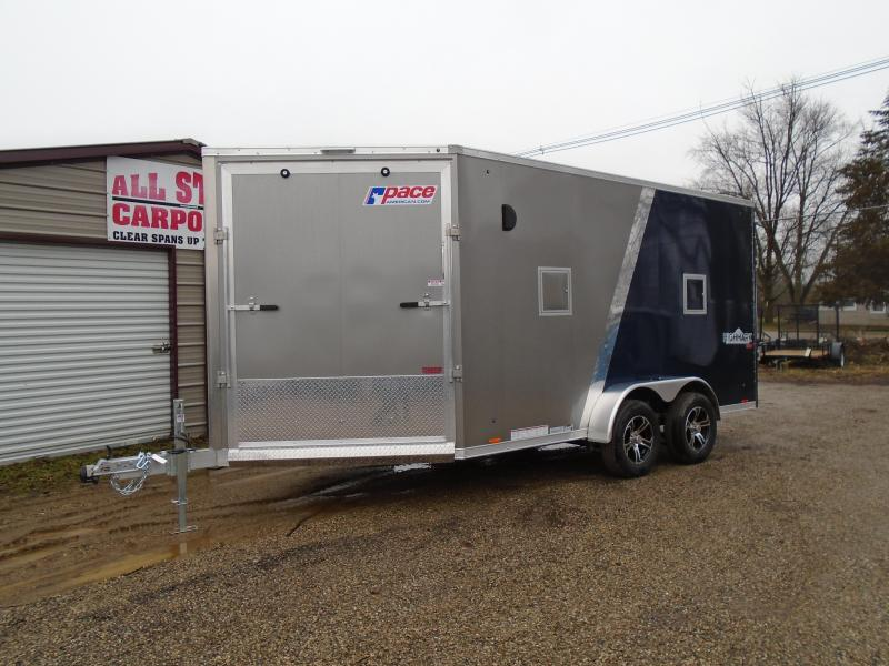 2019 Pace American 7x19 High Mark V UTV/Snowmobile Trailer