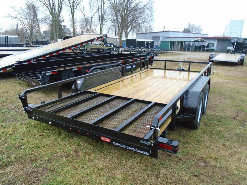 2018 Sure-Trac 7X16 Landscape Trailer
