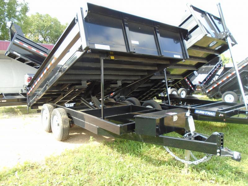 2017 Sure-Trac 96x14 Deckover Dump Trailer