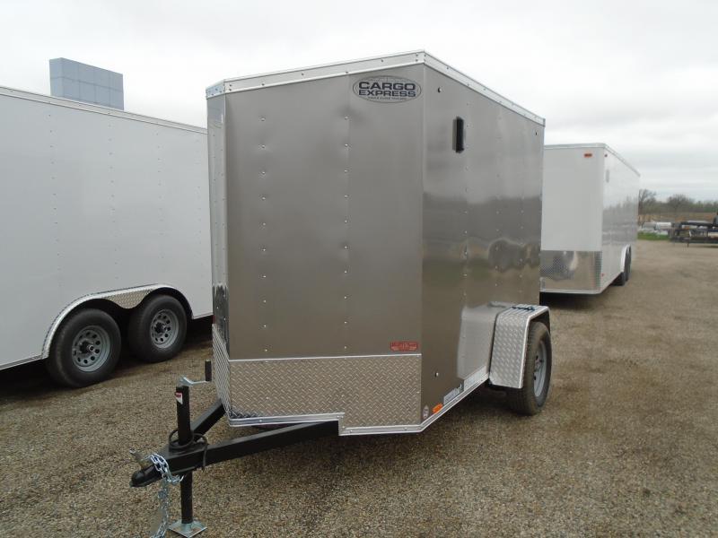 2020 Cargo Express 5x8 SA EX Series Enclosed Cargo Trailer