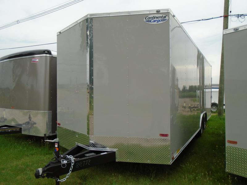 2019 Continental Cargo v series 8.5x24 Enclosed Cargo Trailer