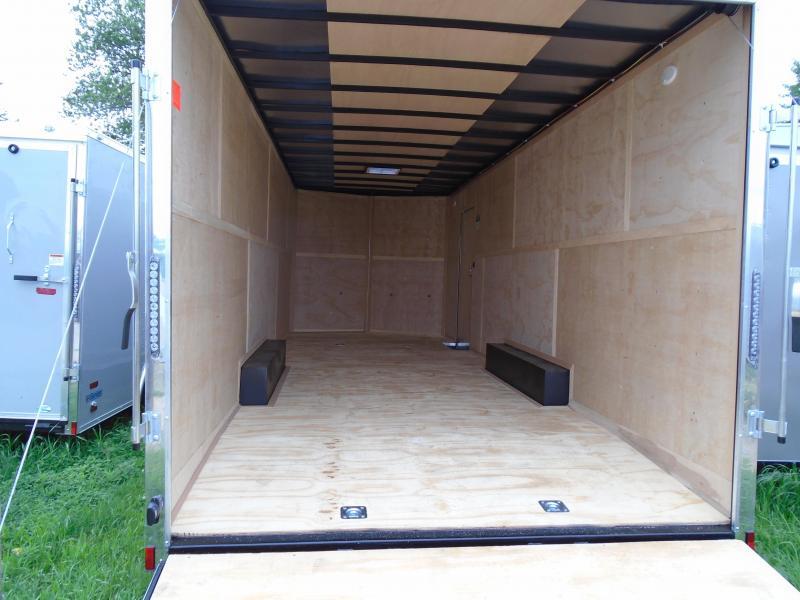 2019 Continental Cargo v series 8.5x24 Enclosed Cargo Trailer