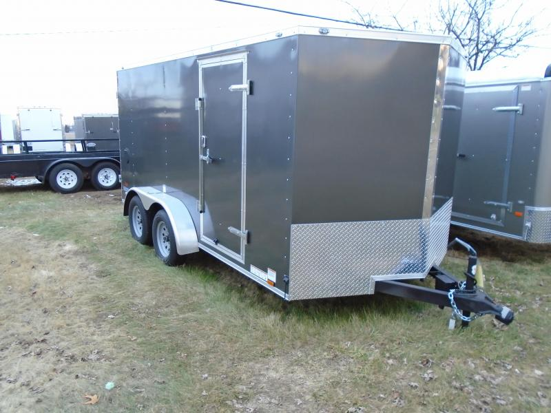 2018 Continental Cargo V Series 7x14  Enclosed Cargo Trailer