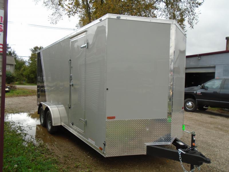 2019 Continental Cargo 7x18 V Series Enclosed Cargo Trailer