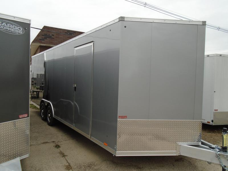 2018 Pace American Aluminum 8.5x24 10k Elite Flat Top Auto Car / Racing Trailer