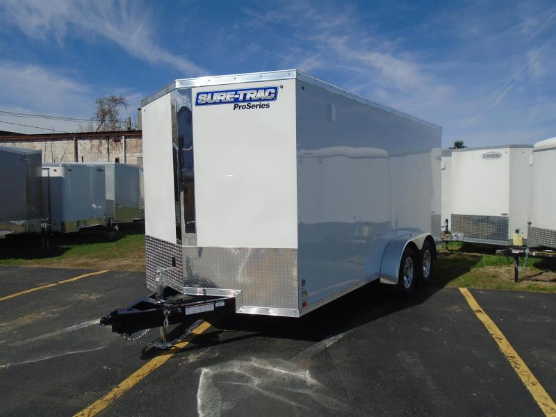 2019 Sure-Trac 7x16 7k Pro Series Enclosed Cargo Trailer in Ashburn, VA