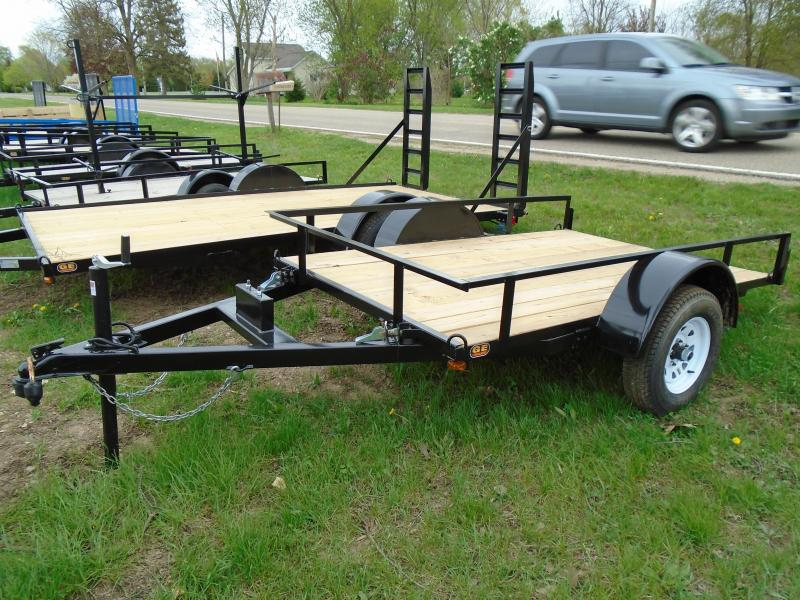 2018 GE 5X10 Light Duty Tilt Utility Trailer