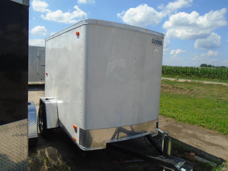 2017 Cargo Express EX series Enclosed 5x8 Cargo Trailer