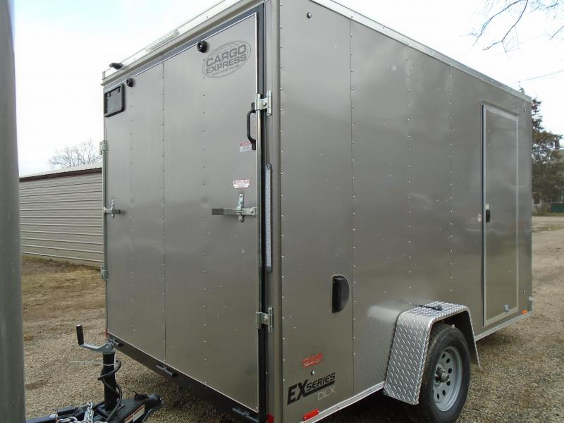 2018 Cargo Express 7x12 EX series Enclosed Cargo Trailer