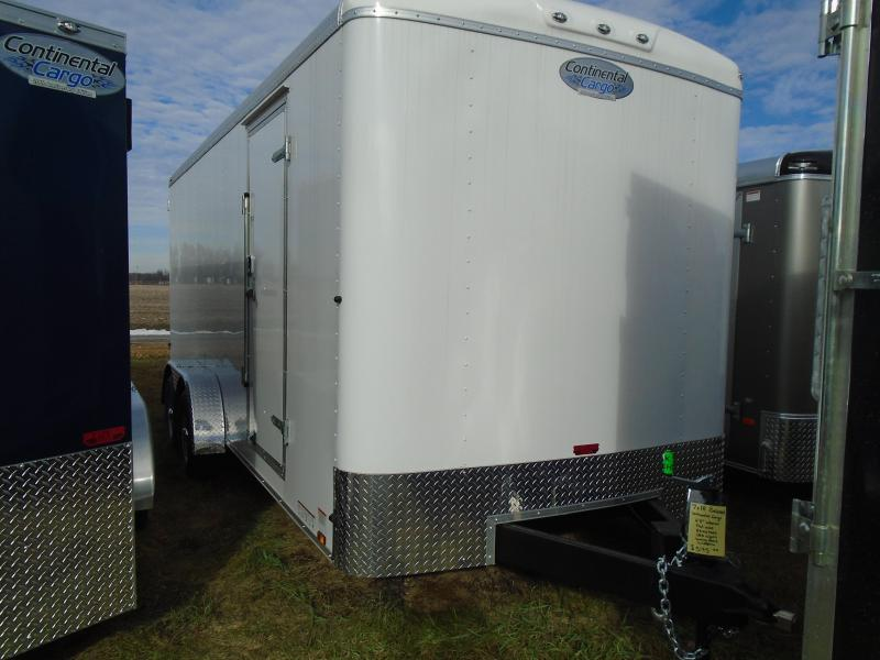 2018 Continental Cargo Tail wind 7x18 Enclosed Cargo Trailer