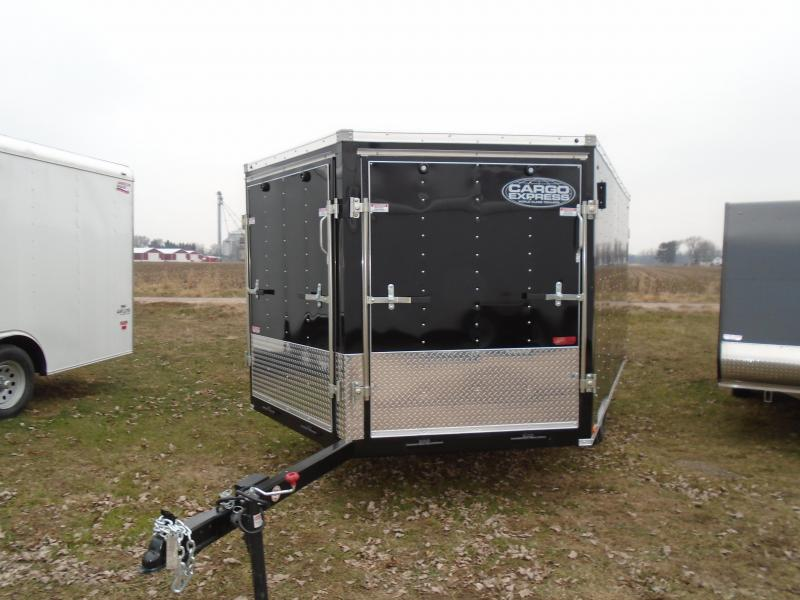 2019 Cargo Express 8.5x12 Denali Snowmobile Trailer