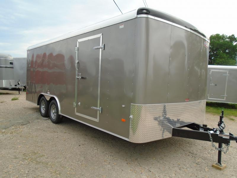2018 American Hauler Industries 8.5x20 Air Light Enclosed Cargo Trailer