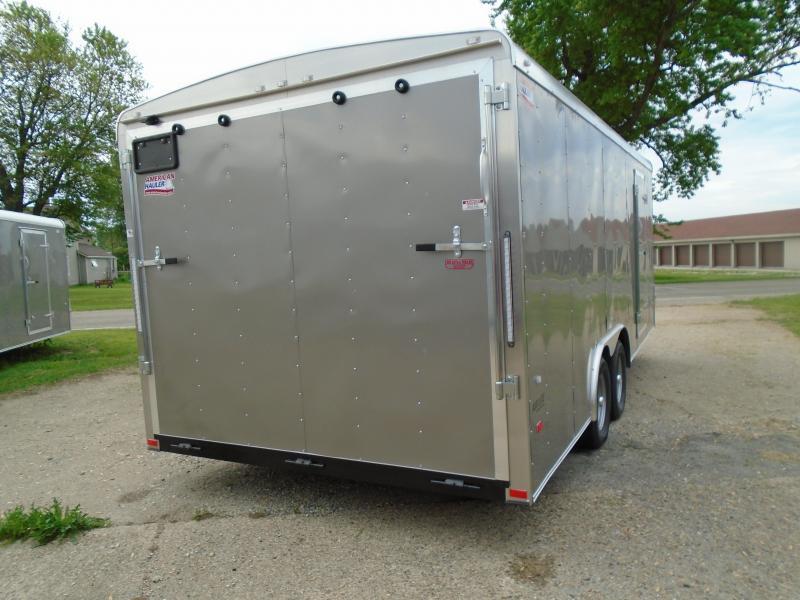 2018 American Hauler Industries 8.5x20 Air Light Enclosed Cargo Trailer