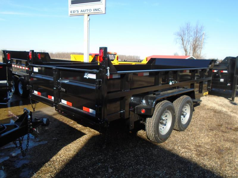2019 Interstate 7x14 14k Dump Trailer