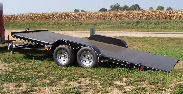 18' All Steel Tilt Bed Carrier