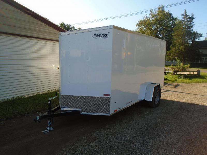 2020 Cargo Express 6x12 SA EX Series Enclosed Cargo Trailer