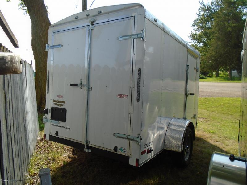 2017 Continental Cargo 6x10 Tail wind Enclosed Cargo Trailer
