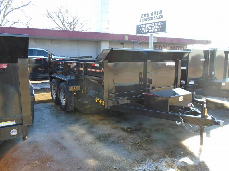2019 Interstate 7x12 12k Dump Trailer