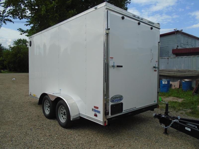 2019 Continental Cargo 7x14 V Series Enclosed Cargo Trailer