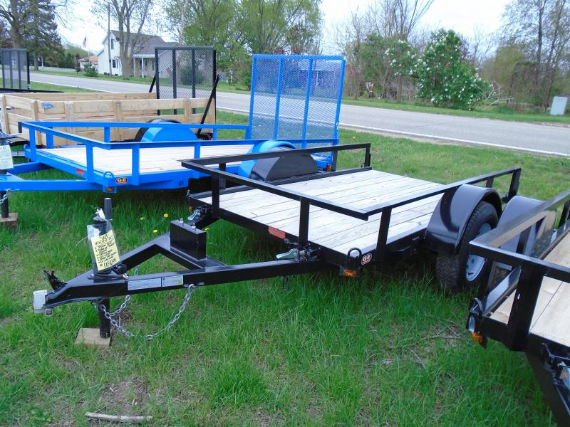 2018 GE 5X8 Light Duty Tilt Utility Trailer