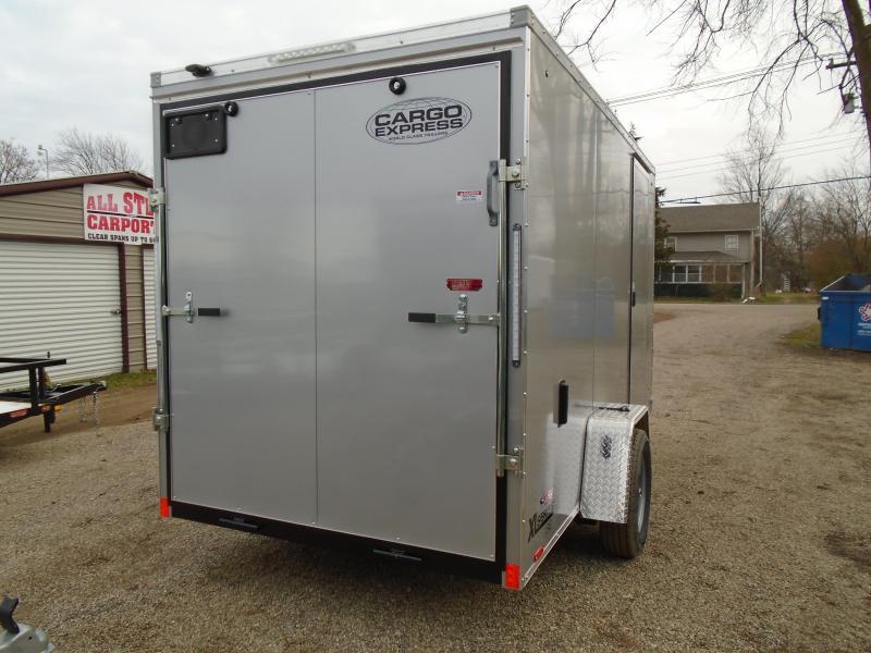 2019 Cargo Express 6x12 XL series Enclosed Cargo Trailer