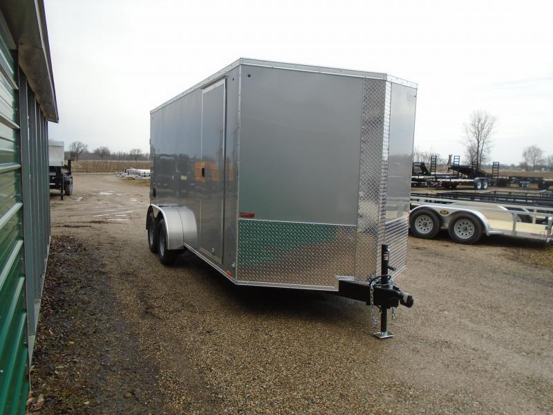 2019 Cargo Express 7x16 7k Enclosed Cargo Trailer