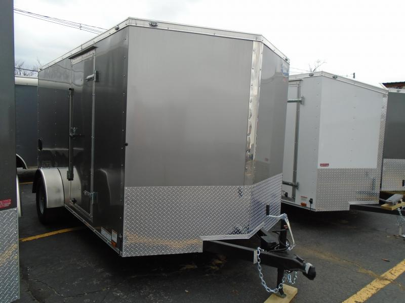 2018 Continental Cargo V Series 7x12 Enclosed Cargo Trailer