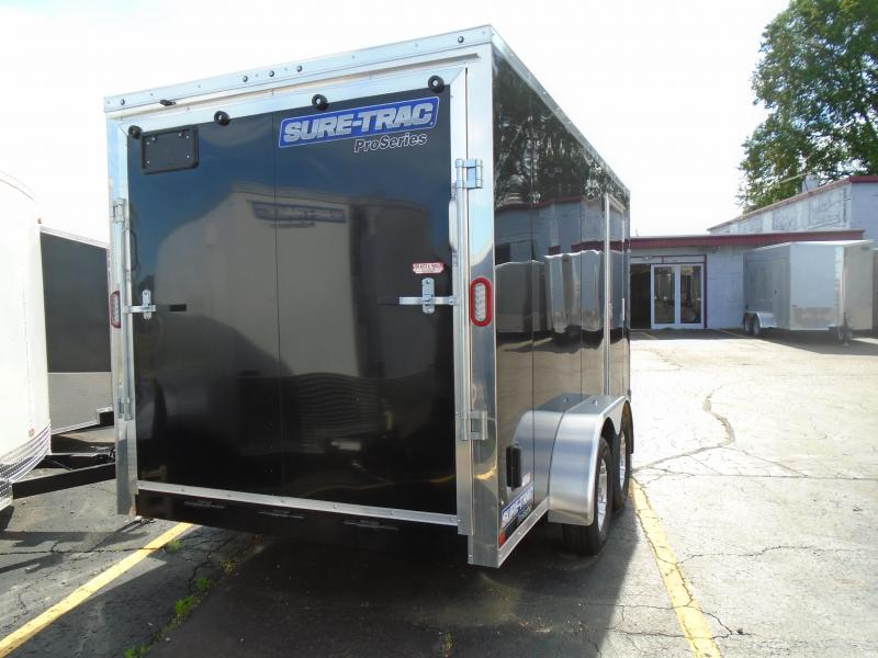 2019 Sure-Trac 7x14 Pro Series 7k Enclosed Cargo Trailer