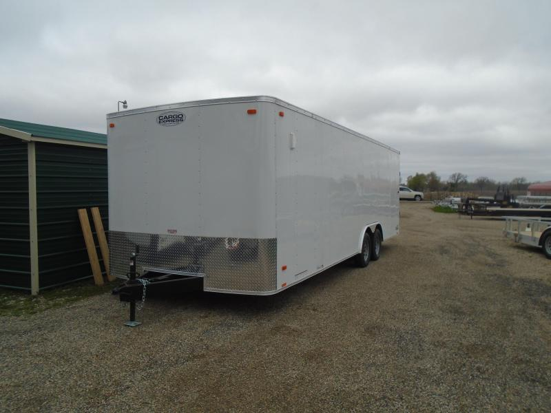 2020 Cargo Express 8.5X24 7K EX Series Car / Racing Trailer