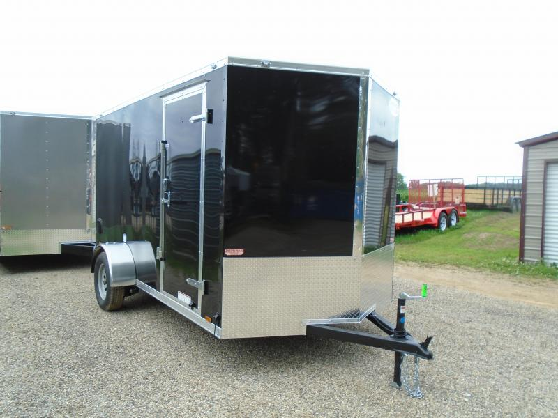 2019 Continental Cargo V Series 6.5x12 Enclosed Cargo Trailer