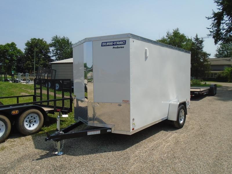 2019 Sure-Trac 6x12 Pro Series SA Enclosed Cargo Trailer