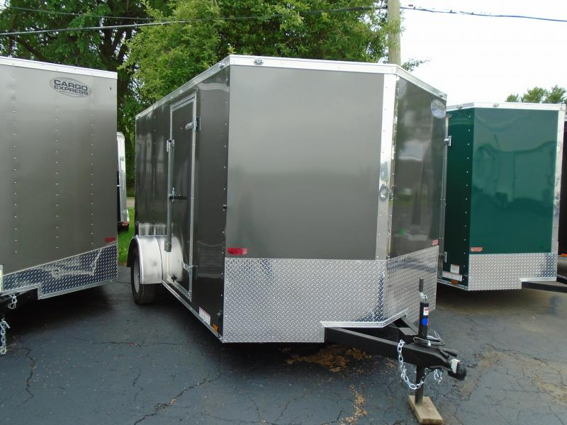 2019 Continental Cargo V Series 7x12 Enclosed Cargo Trailer