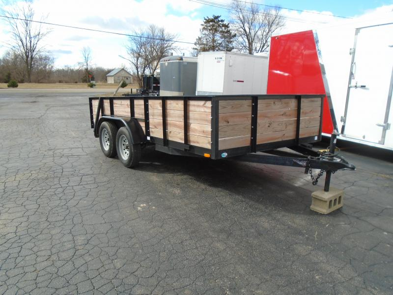 2015 Forest River Inc. 6.5x14 Force landscape 7k Utility Trailer