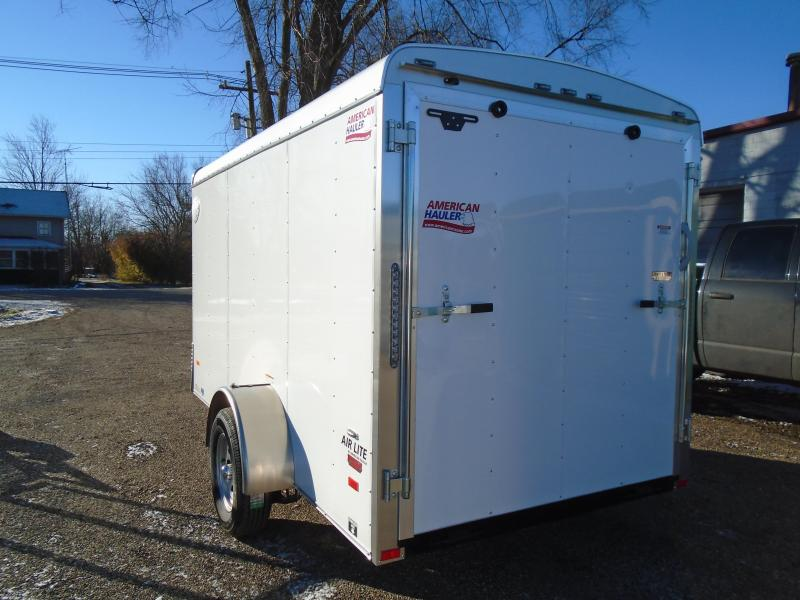 2019 American Hauler Industries 6x12 Air lite Enclosed Cargo Trailer