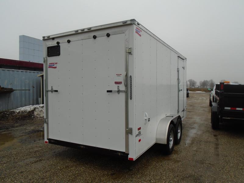 2019 American Hauler Industries 7x16 Arrow Enclosed Cargo Trailer
